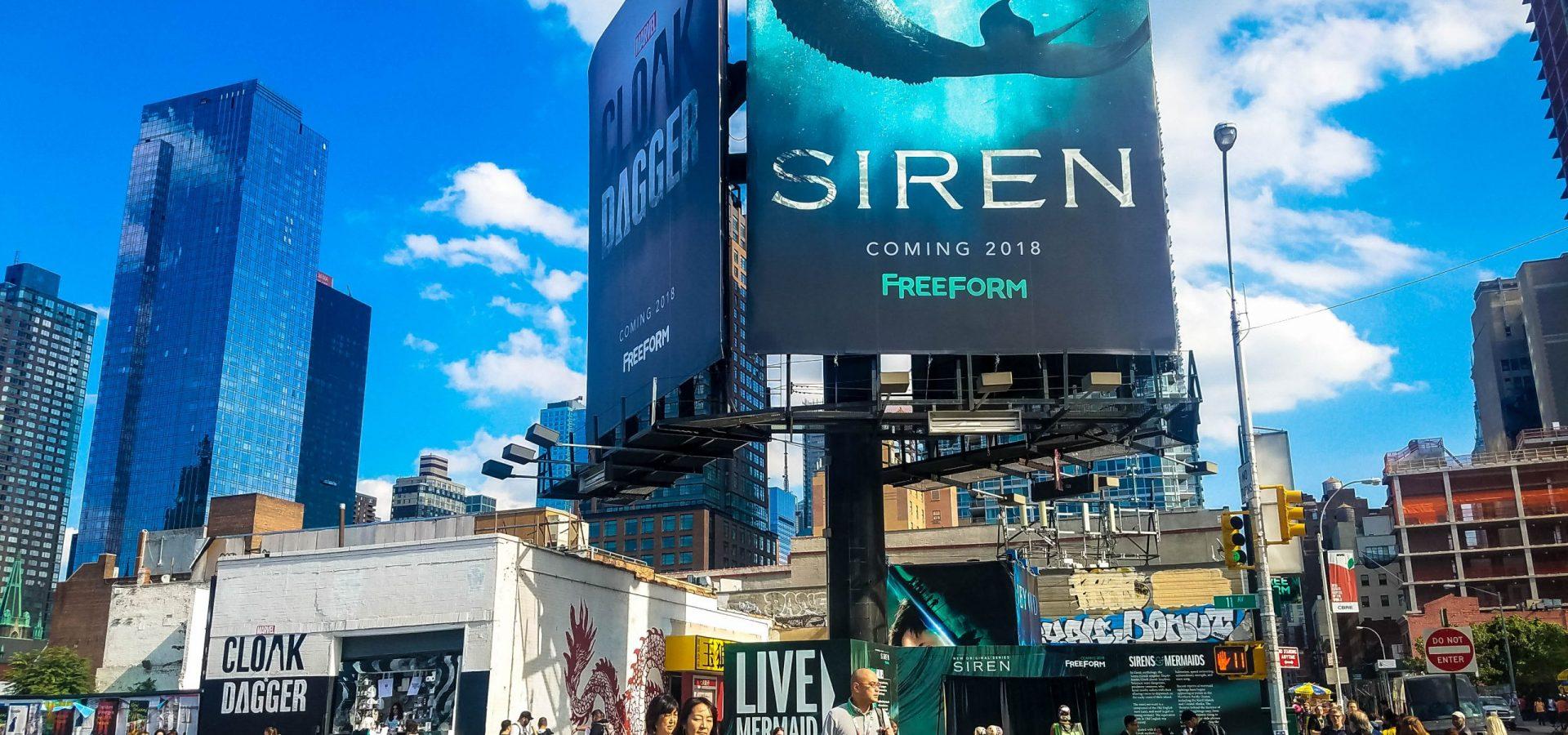 Siren- Freeform New York Comic-Con 2017