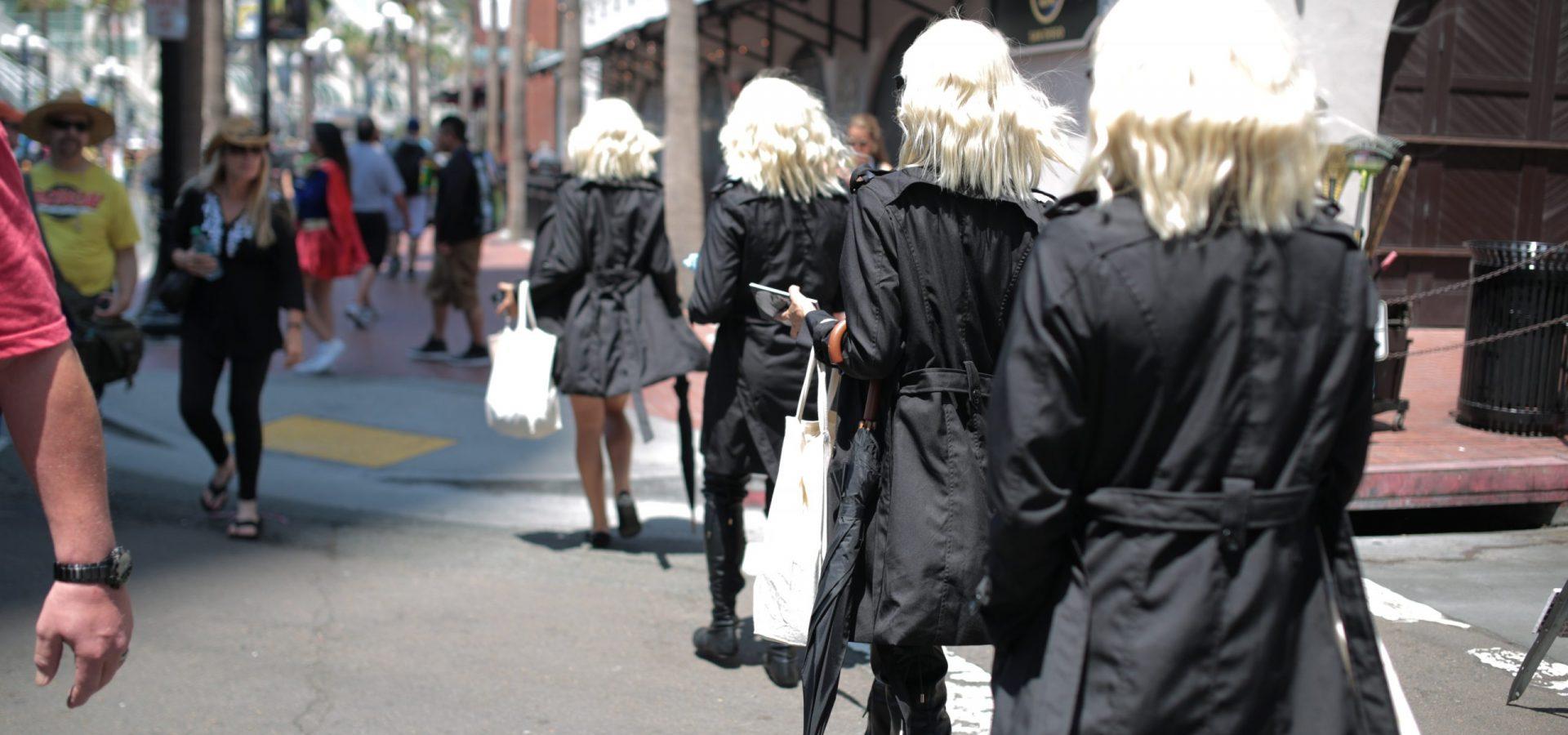 Atomic Blonde Street Team Comic Con