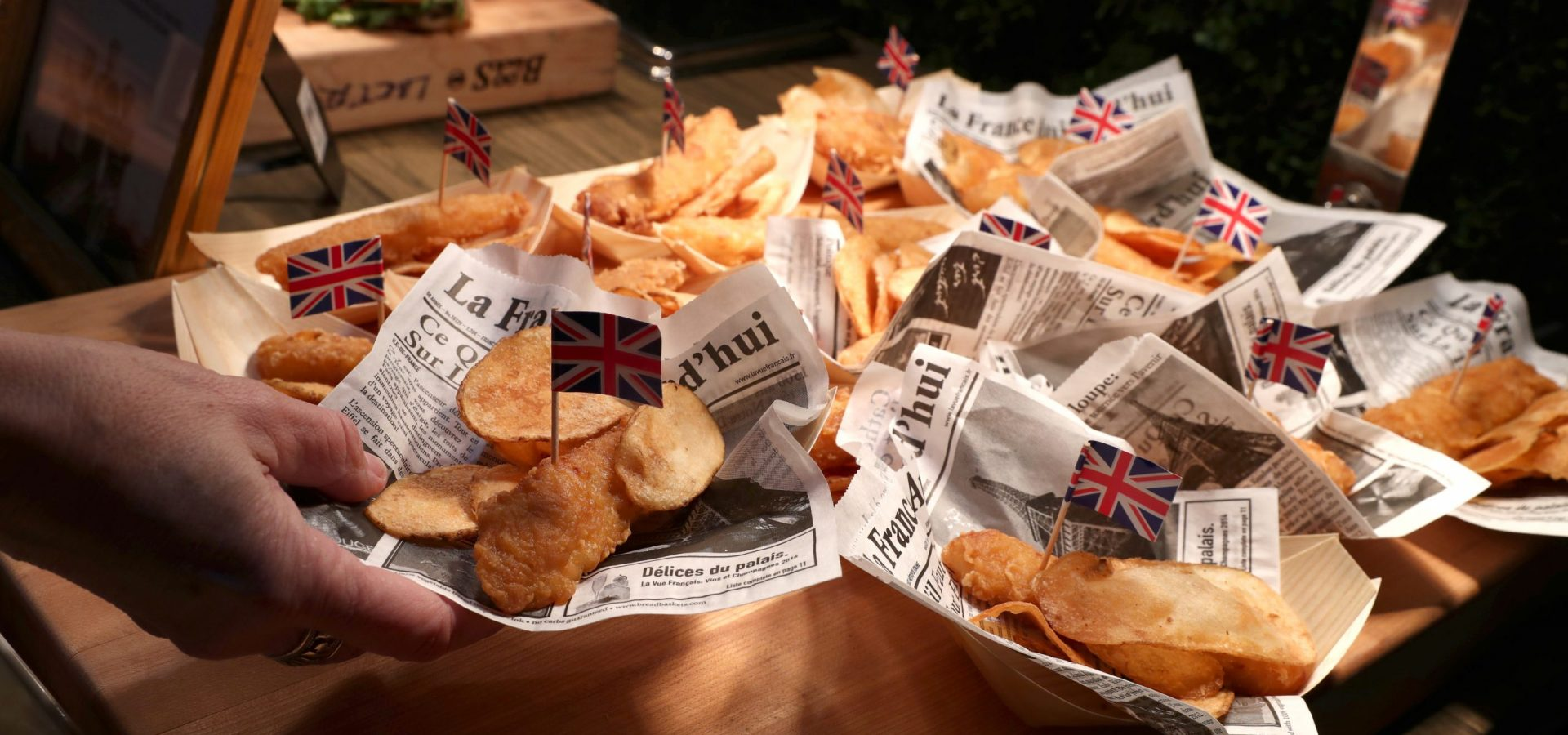 The Grand Tour Pub Fish and Chips