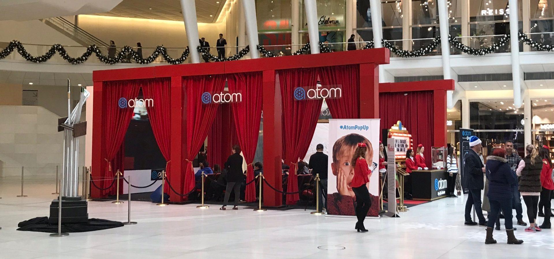 atom pop up theater oculus center NY