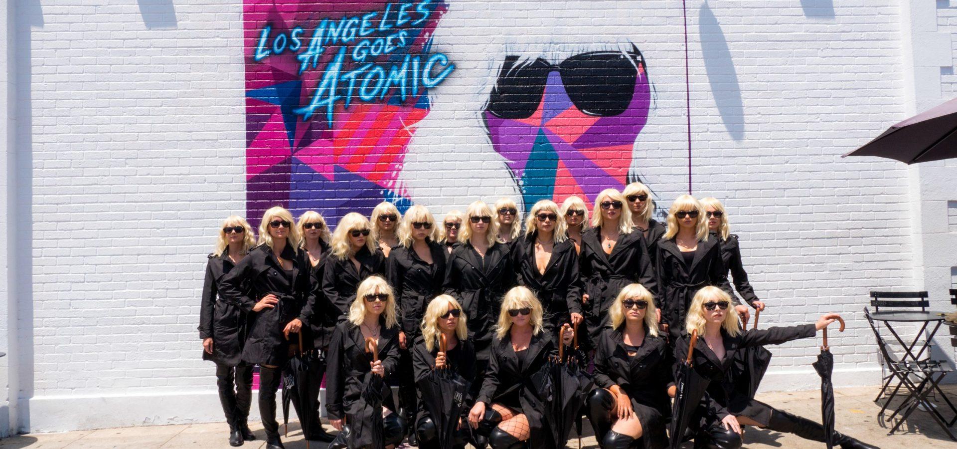 Atomic Blonde Street Team Los Angeles