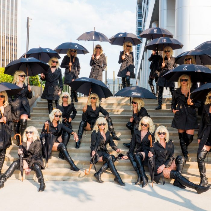 Atomic Blonde Street Team SDCC
