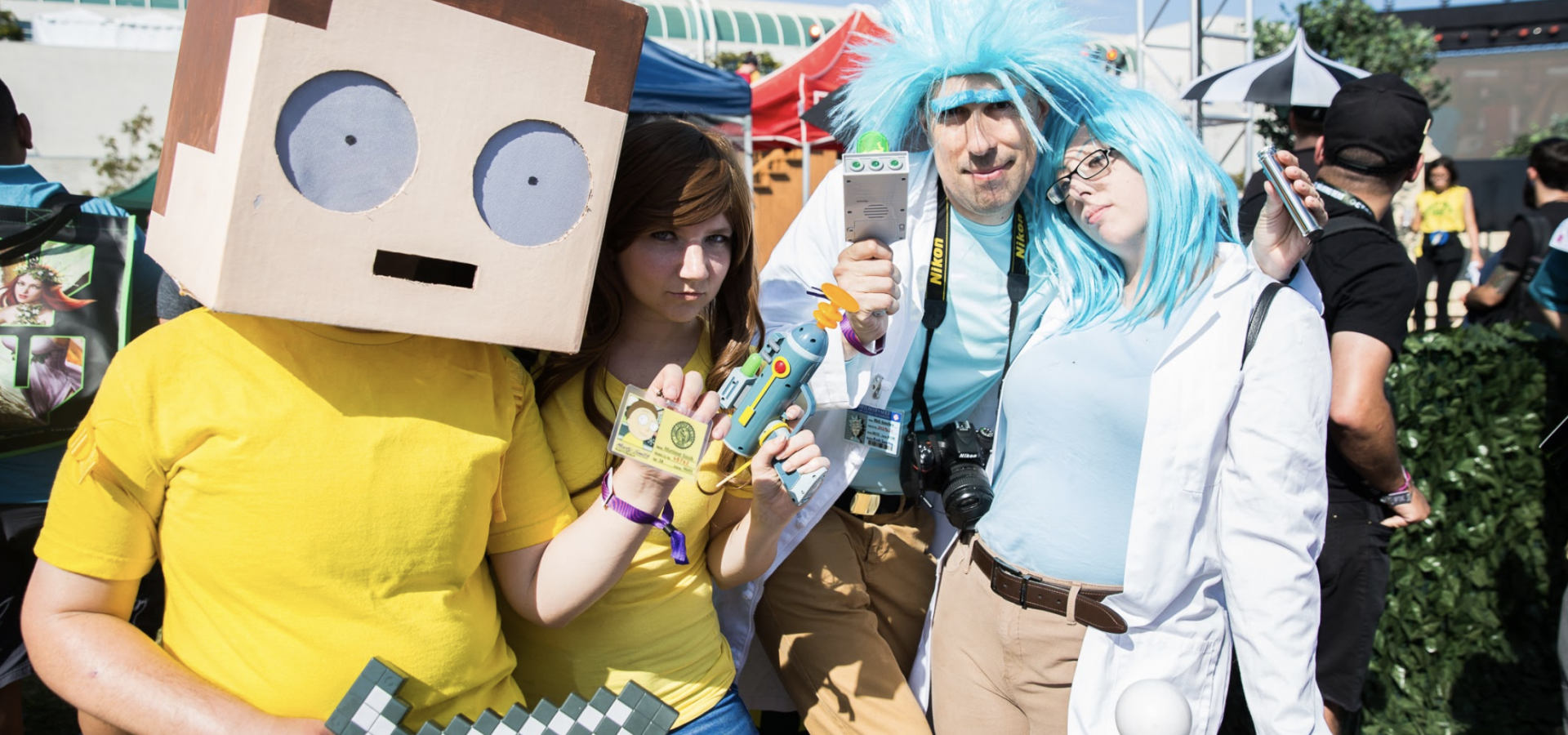 Adult Swim - On The Green Cosplay
