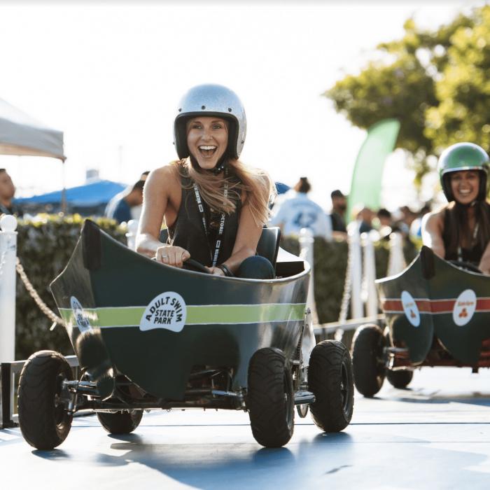 Adult Swim - On The Green Go Karts