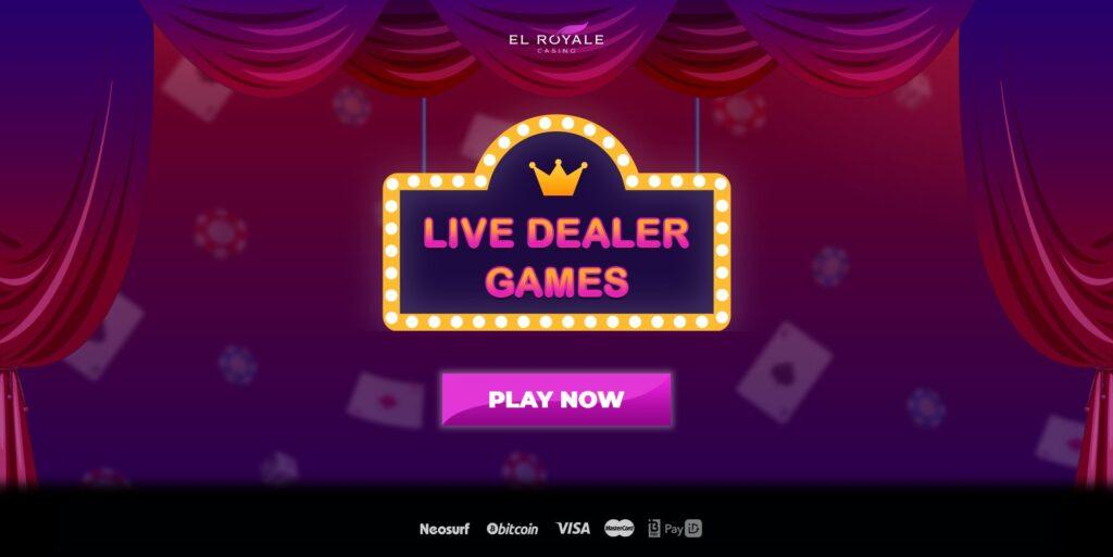 EL ROYALE Casino Live Dealer Games