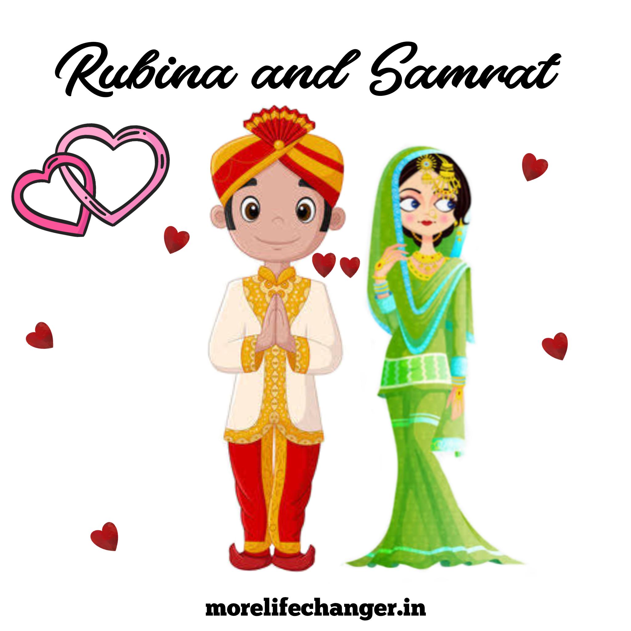 Rubina and Samrat