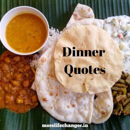 26 Amazing dinner quotes