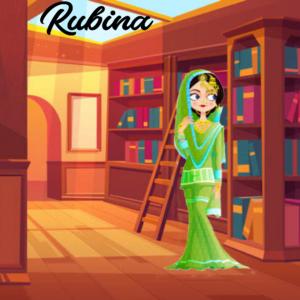 Rubina is sad