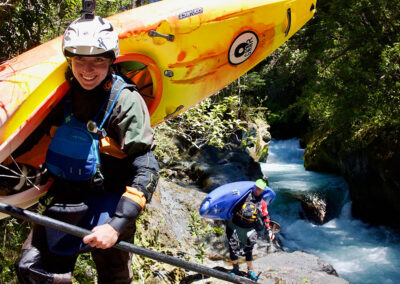 kayaking Chile Palguin River