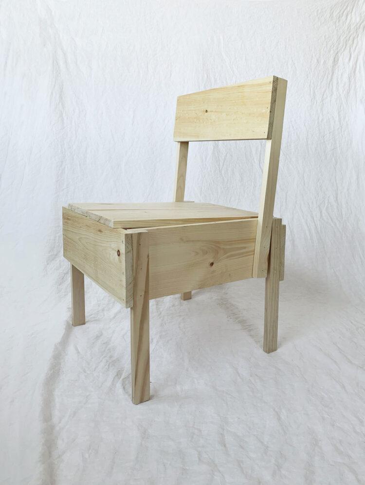 Sedia 1 autoprogettazione DIY Chair by Enzo Mari