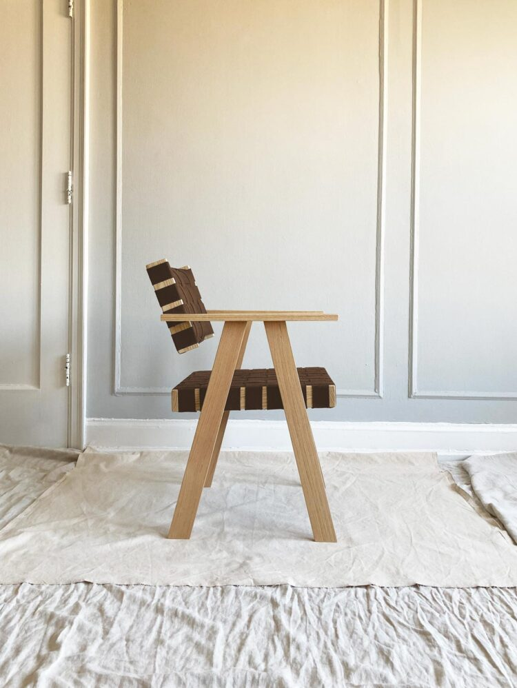 Simple Joinery Side Chair by Ian Anderson