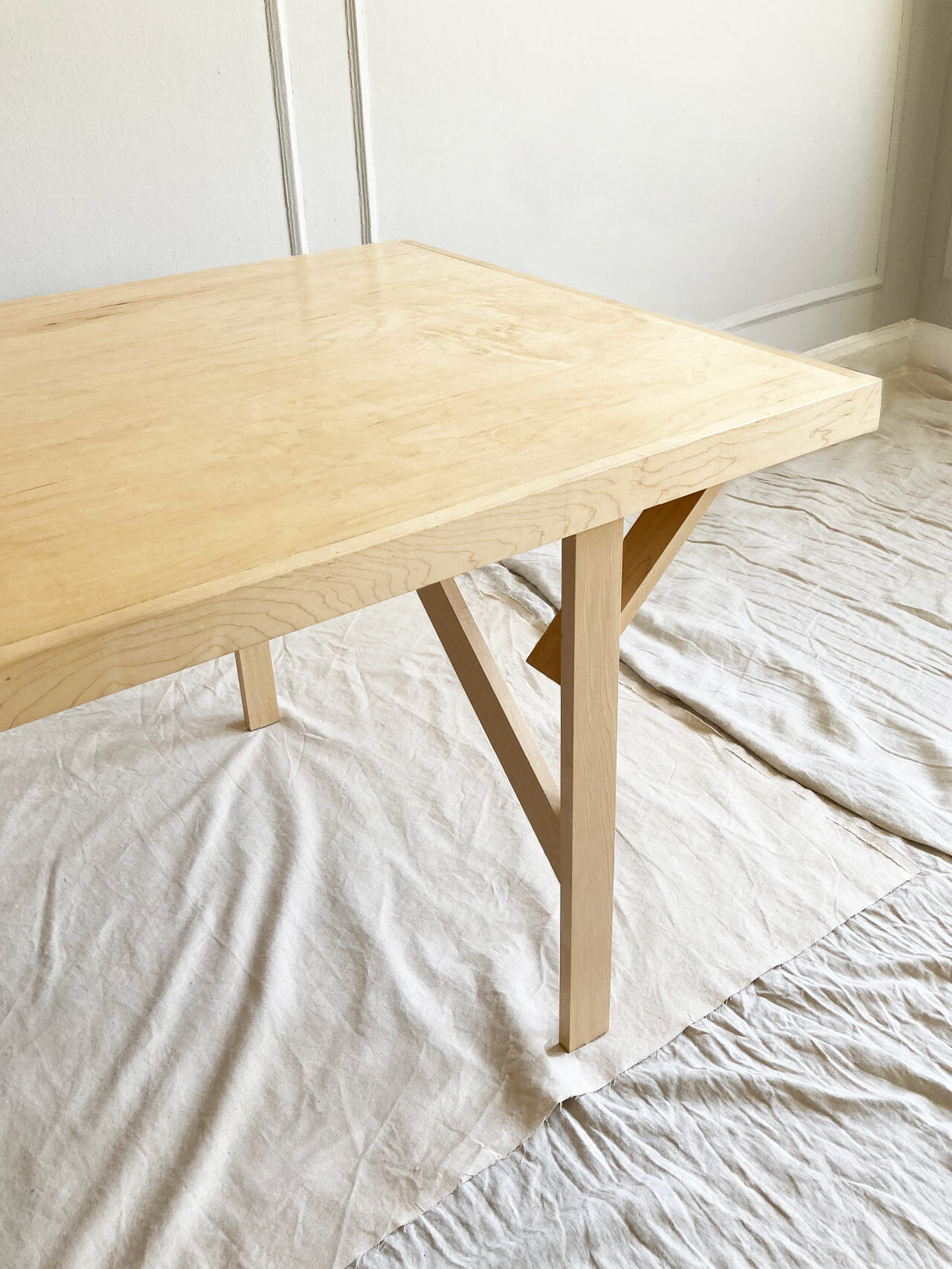 Simple Joinery Dining Table by Ian Anderson