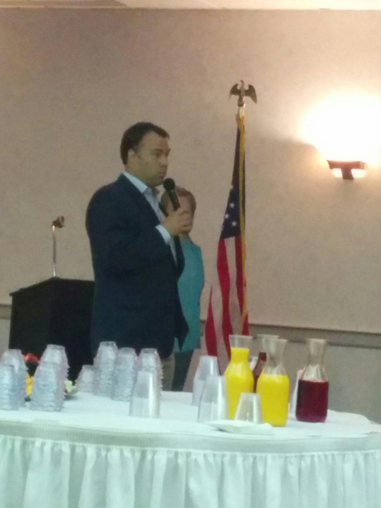 Ohio Democratic Party Chair addresses the EDC Brunch