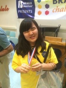 Picture So Cal Braille Challenge Win