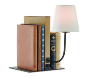 Cloven Bookcase Lamp