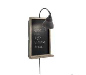 Chalkboard Sconce