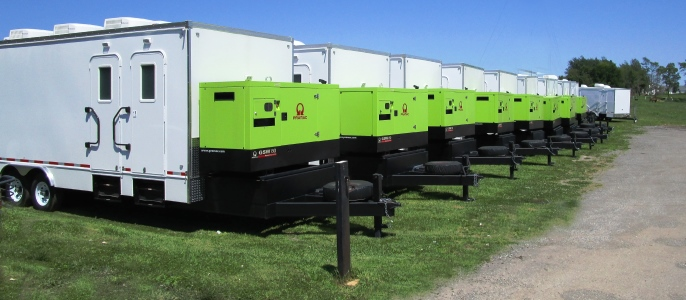 Emergency Response Mobile Command Trailers Laundry