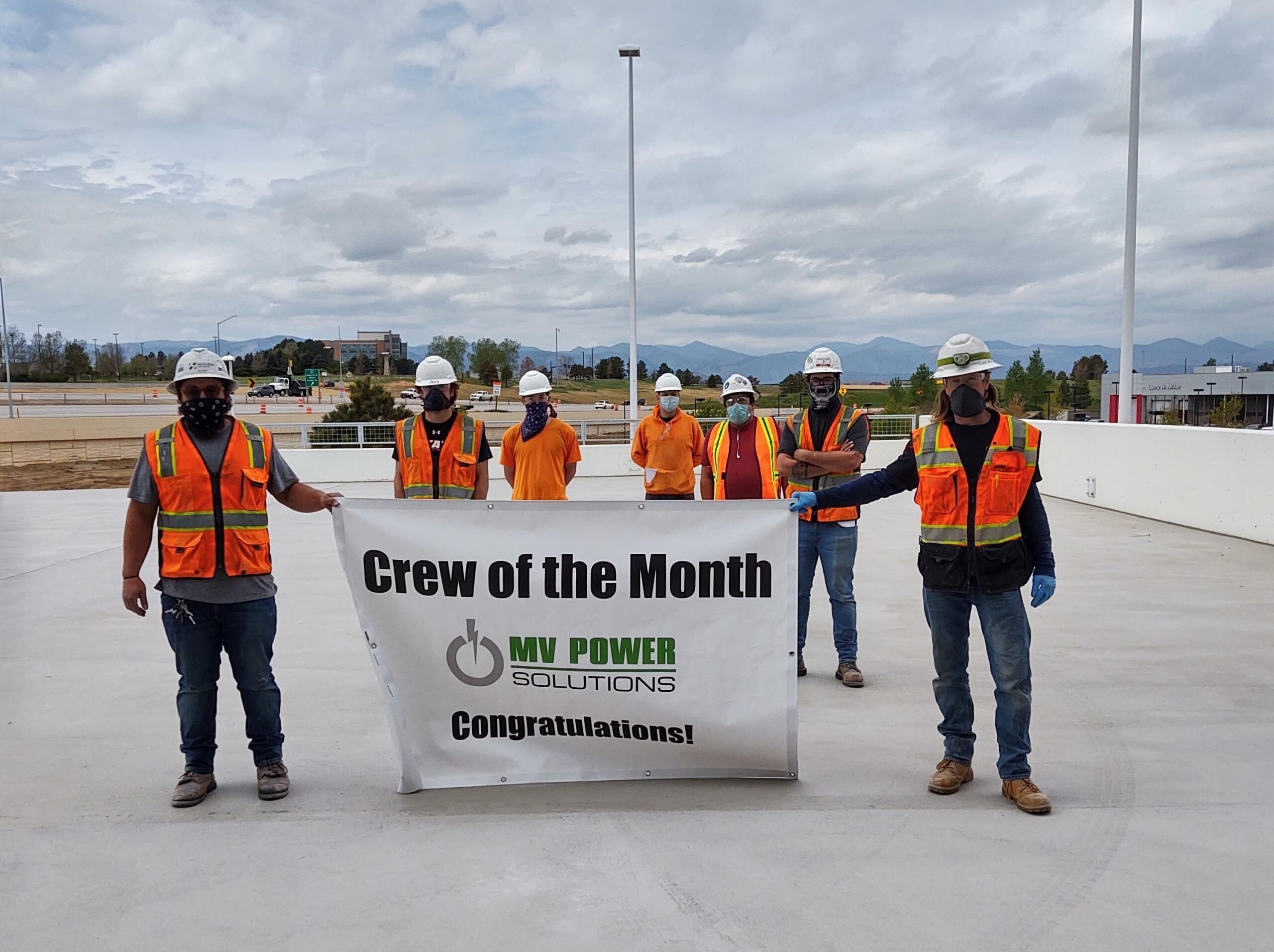 Crew of the Month – May