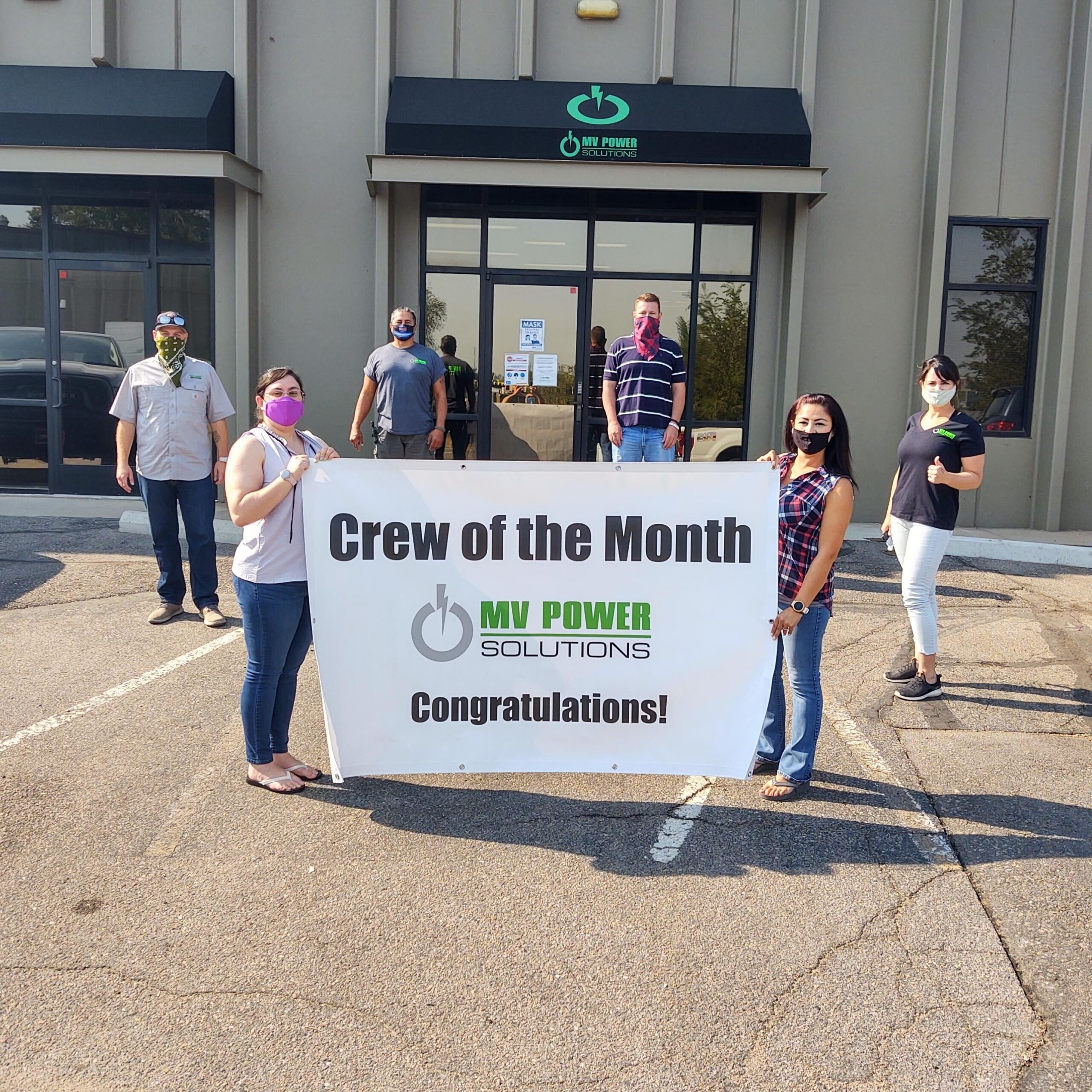 Crew of the Month – August