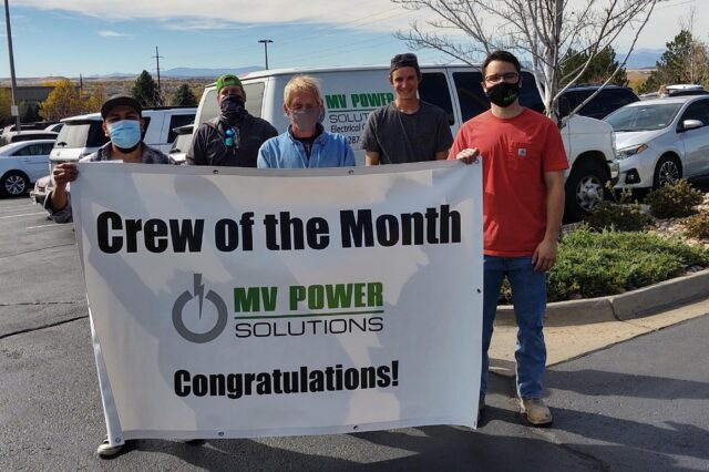 Crew of the Month – October