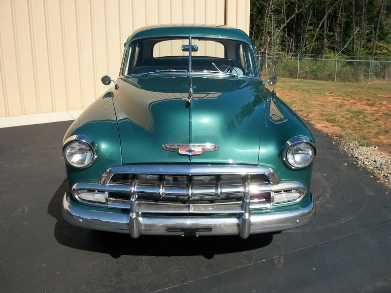 1952 Chevrolet Deluxe 4 door