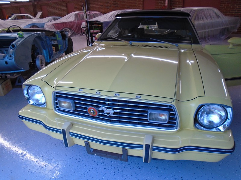 1977 Ford Mustang Convertible