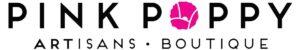 Interior of Pink Poppy Artisans Boutique Logo
