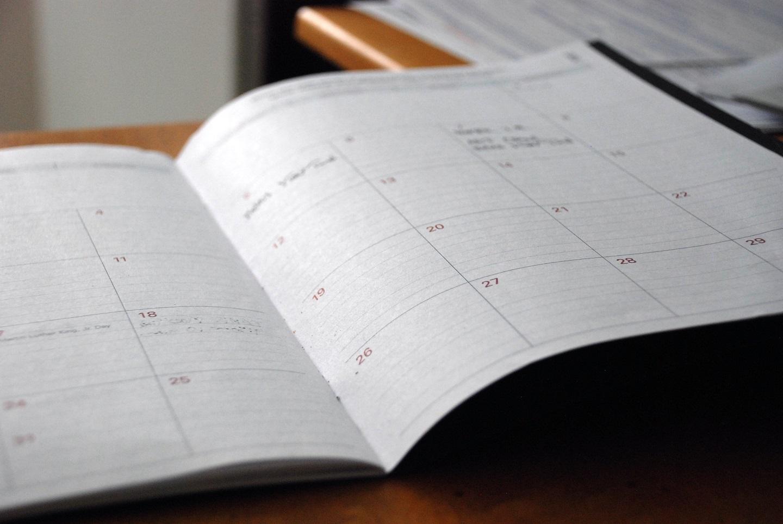 agenda calendario habitos rutina