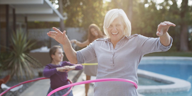 anciana mujer elderly activa active