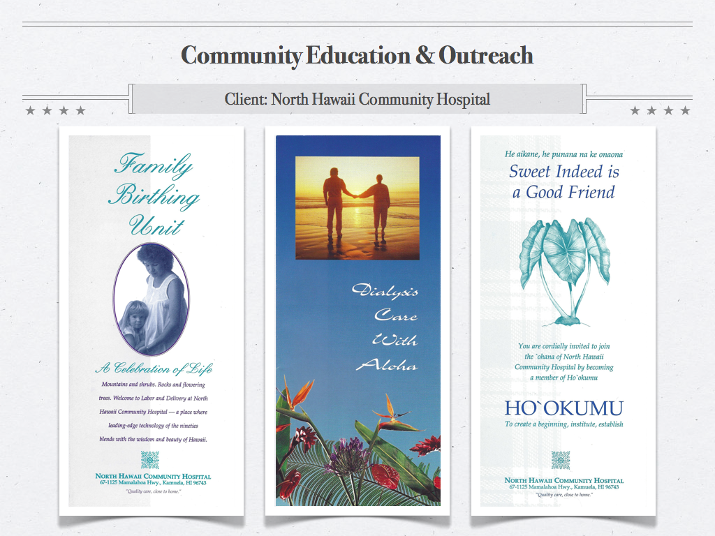 NHCH Brochures
