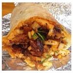 El Venado first burrito
