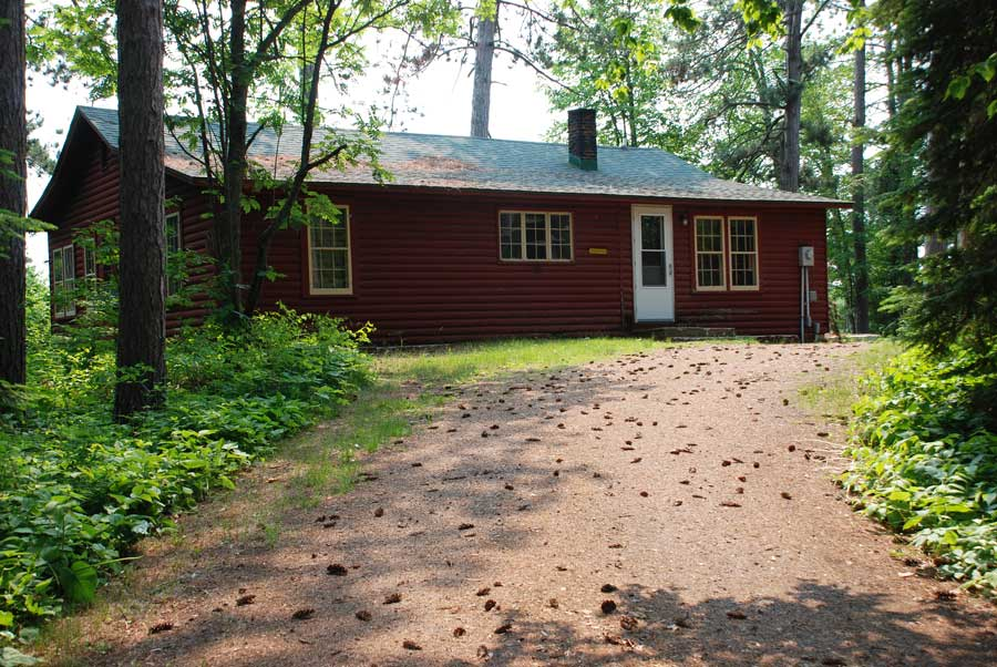 White Pine Rental Cabin at Holiday Pines Resort in Port Wing, Wisconsin