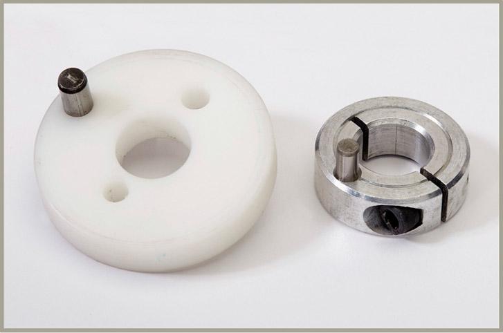 RGA Spool adapter