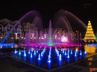 Quảng trường nhạc nước CityLand Park Hills Gò Vấp Tp.HCM