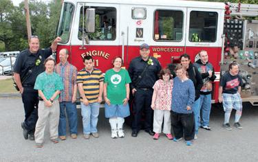 Mercy Centre Fire truck