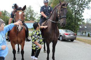 mercy centre horses