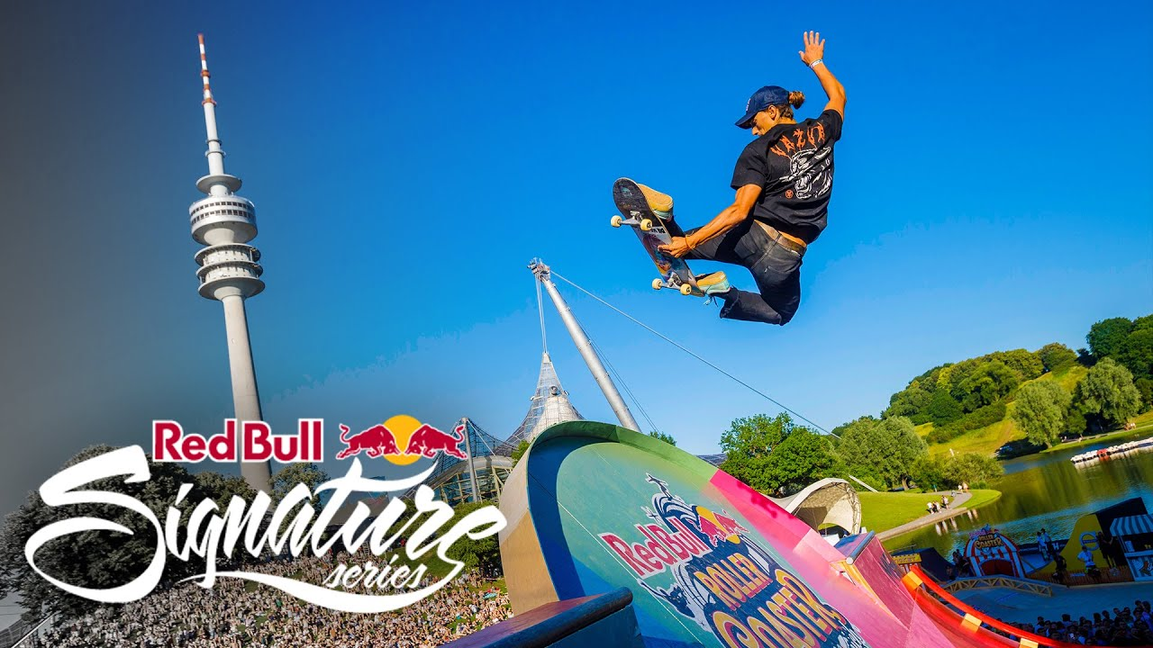 Red Bull Roller Coaster Highlights 2019 in Munich, Germany