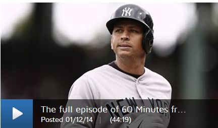 A-ROD FINALLY GETS HIS DAY IN COURT – ON 60 MINUTES TV