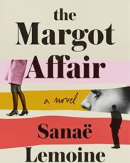 This is a book cover for The Margot Affair