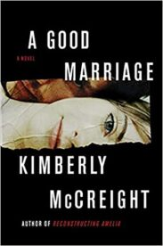 This is a book cover for A Good Marriage