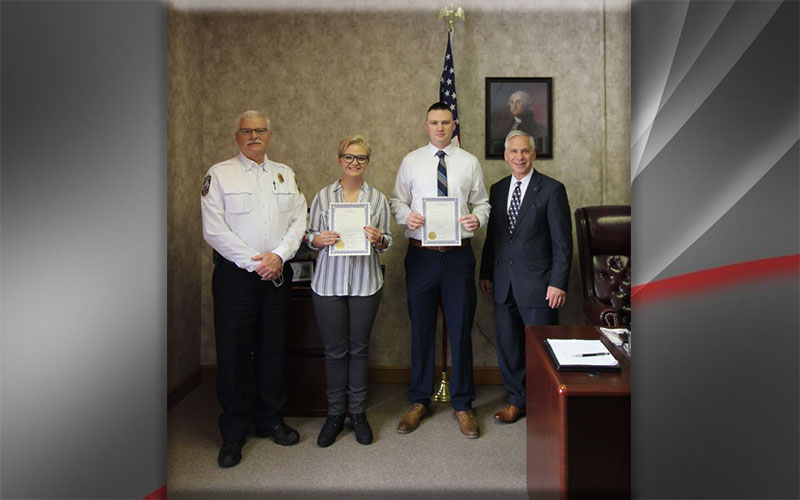 Alumni Serve as Firefighters