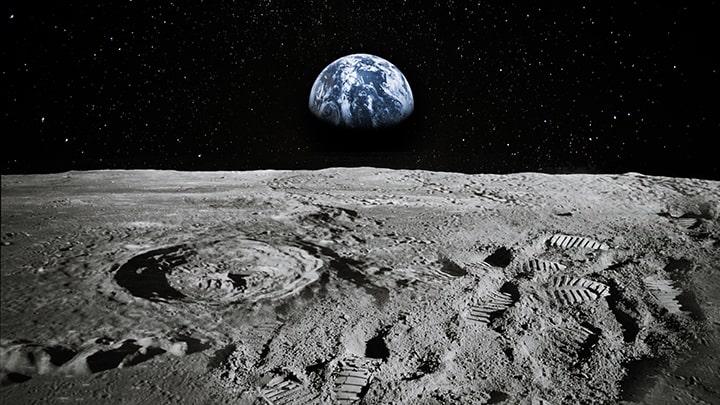 Nasa Earth from Moon