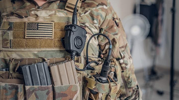 US Soldier Warfighter GPS Navigation