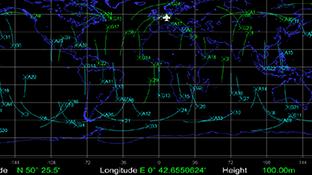 Satellite Trajectory SimSAAS Software