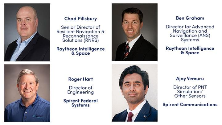 Speakers for GPS Anti-jam and Sensor Fusion webinar