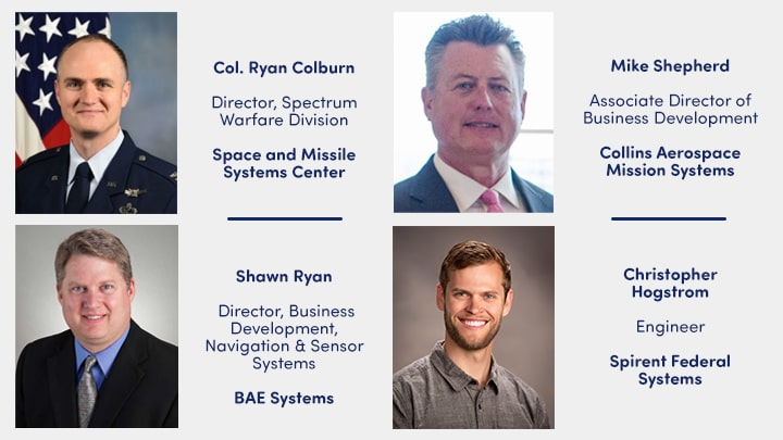 Speakers for GPS Updates and Its Role in SMC Space Enterprise