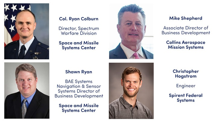 Speakers for GPS Updates and Its Role in SMC Space Enterprise Architecture webinar