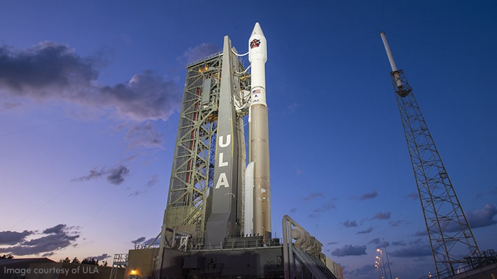 United Launch Alliance Atlas V rocket with SBIRS payload