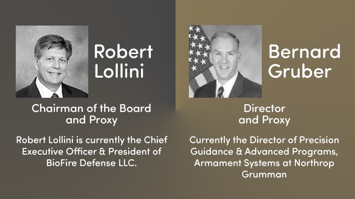 Spirent Federal Board of Directors