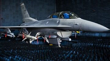 Real World Test Fighter Jet